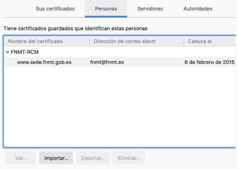 solicitar el certificado digital